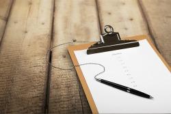 Order Checklist criteria Clipboard Questionnaire Form List